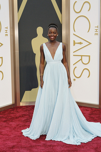 Lupita Nyong'o's Oscar 2014 Dress