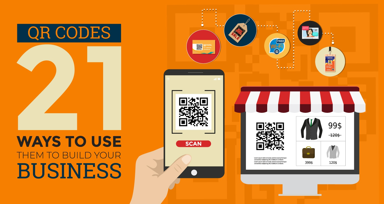 280218 QR CODES – 21 WAYS TO USE THEM TO BUILD YOUR BUSINESS Opt2 090418