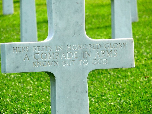 Unmarked grave - American Memorial Cemetery Manila