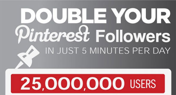 Double Your Pinterest Followers In 5 Minutes Per Day