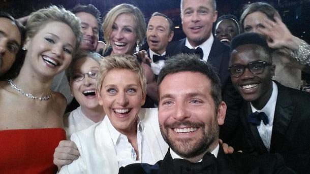 Ellen's Oscar Tweet