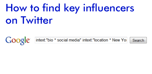 Finding key influencers on Twitter