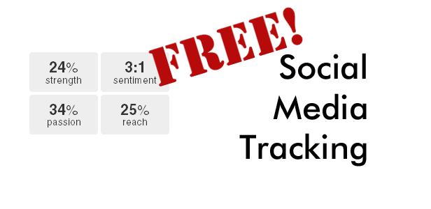 Free Social Media Tracking