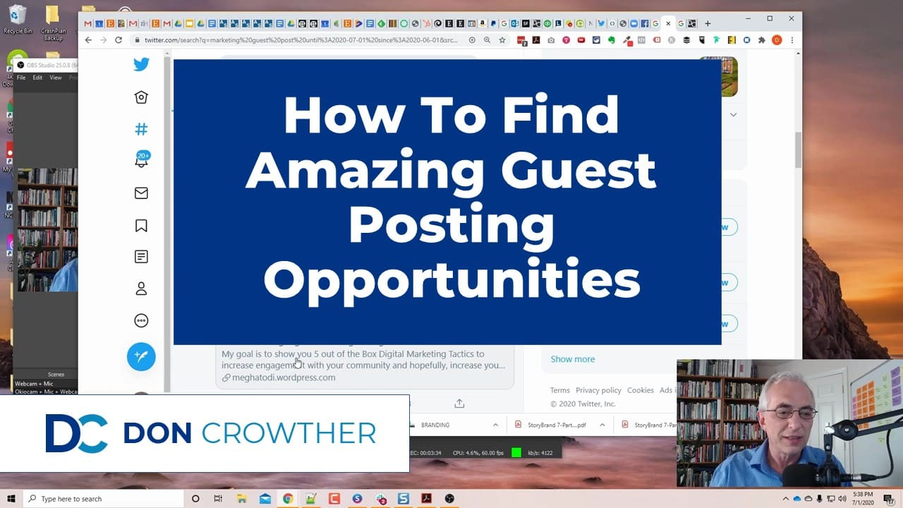 How To Find Amazing Guest Posting Opportunities Thumbnail