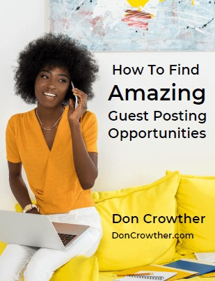 How To Find Amazing Guest Posting Opportunities Report Cover