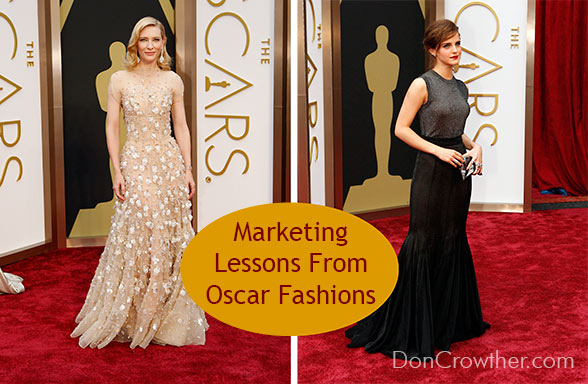 4 Things Oscar Fashions Teach Us About Marketing