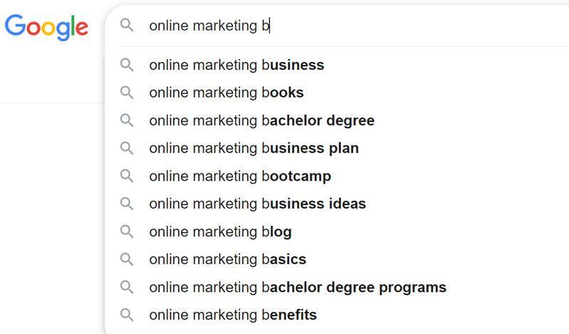 Online marketing content ideas b