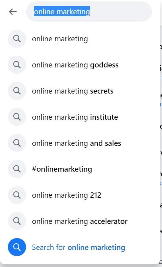 OnlineMarketingFacebook