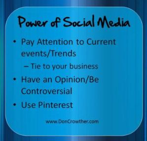 Social Media Power by Don Crowther