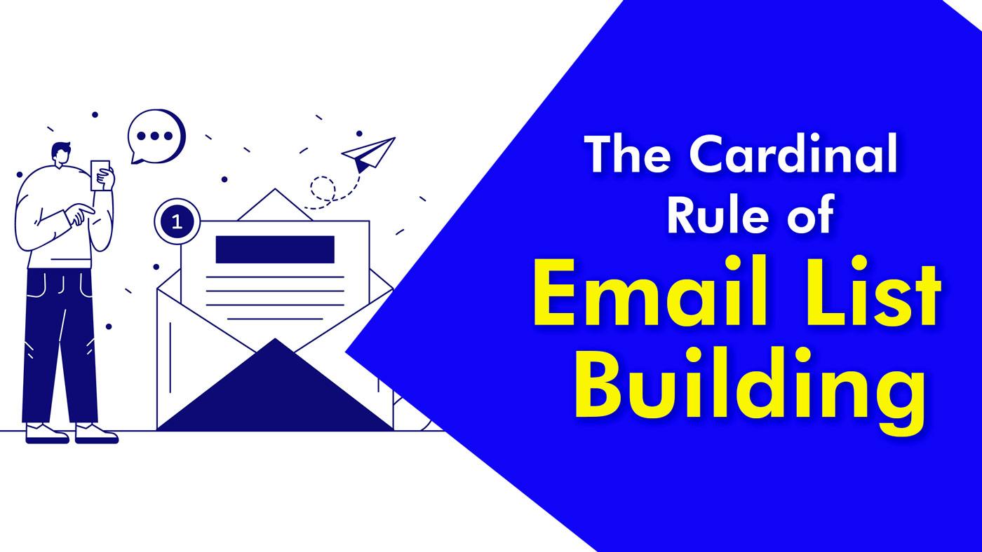 Email list building illustration