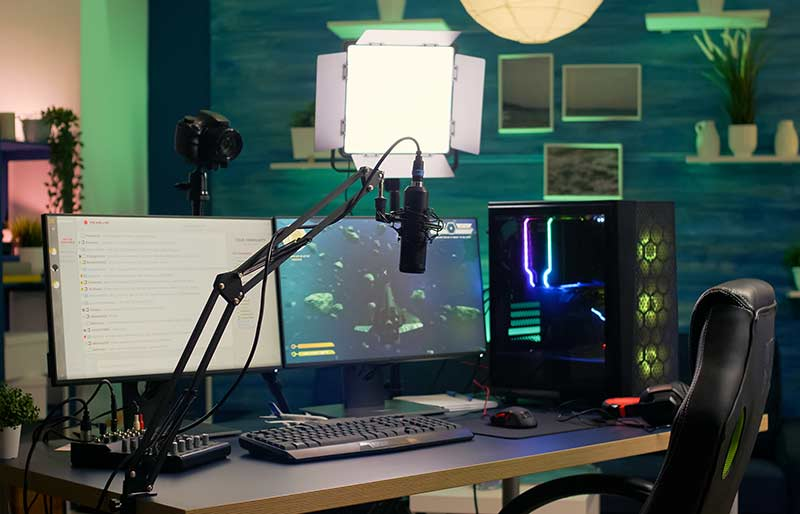 Office video studio
