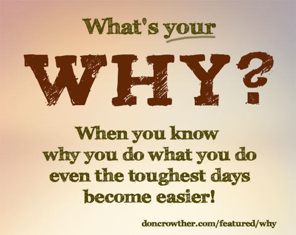 What's Your Why Quote