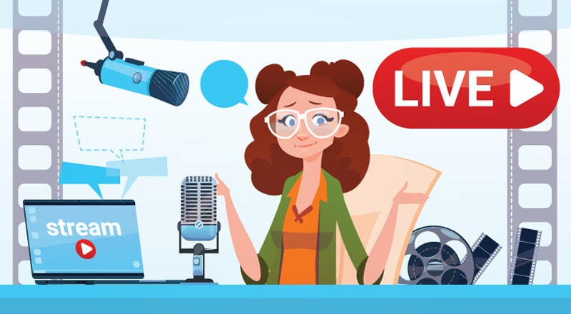 Facebook and YouTube Live