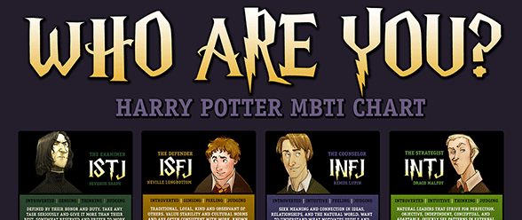 Myers-Briggs and Harry Potter